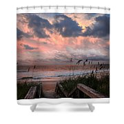 Glory Of Dawn Shower Curtain
