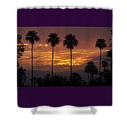 Glory Of Early Morning Shower Curtain