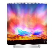 Glory Sunset Shower Curtain