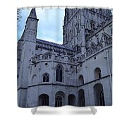 Gloucester Cathedral 2 Shower Curtain