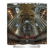 Gloucester Cathedral 2.0 Shower Curtain