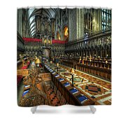 Gloucester Cathedral Choir Shower Curtain