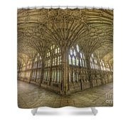 Gloucester Cathedral Cloisters Shower Curtain