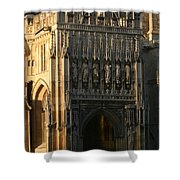 Gloucester Cathedral Entrance Shower Curtain