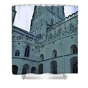 Gloucester Cathedral  Shower Curtain