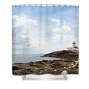 Gloucester Lighthouse Shower Curtain