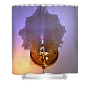 Glow And Lighten The World Shower Curtain