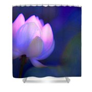 Glow Of Inner Truth. Impressionism Shower Curtain