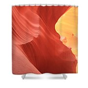 Glow Under The Desert Floor Shower Curtain