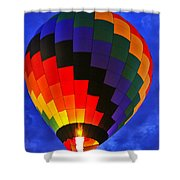 Glowing At Dusk Shower Curtain