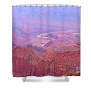Glowing Colors Of The Grand Canyon Shower Curtain