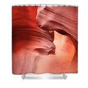 Glowing Passage Shower Curtain