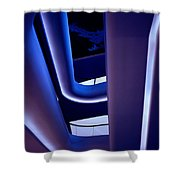 Glowing Sensuality Shower Curtain
