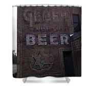 Gluek Beer Shower Curtain