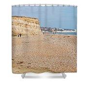 Glyne Gap Beach In England Shower Curtain