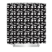 Glyphs 15 Phone Case Shower Curtain