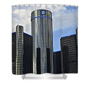 Gm Building Shower Curtain