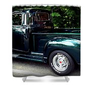 Gmc Classic Truck Shower Curtain