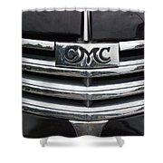 Gmc Truck Emblem Shower Curtain