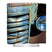 Gmc Truck Grille Emblem Shower Curtain