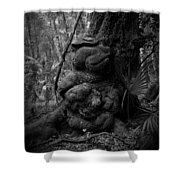 Gnarled Number 1 Shower Curtain