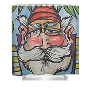 Gnome 1 Shower Curtain