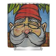 Gnome 5 Shower Curtain