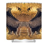 Gnome Rock Throne Shower Curtain