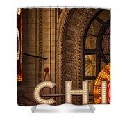 Go Chi Shower Curtain