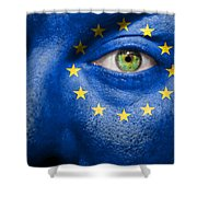 Go Europe Shower Curtain