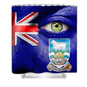 Go Falkland Islands Shower Curtain