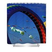 Go Fly A Kite 2 Shower Curtain