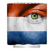 Go Holland Shower Curtain