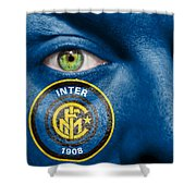 Go Inter Milan Shower Curtain