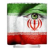 Go Iran Shower Curtain