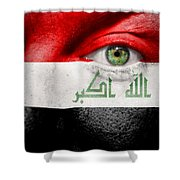 Go Iraq Shower Curtain