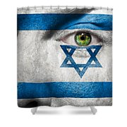 Go Israel Shower Curtain