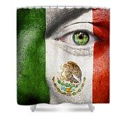 Go Mexico Shower Curtain