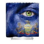 Go Pennsylvania Shower Curtain by Semmick Photo