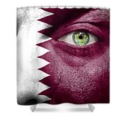 Go Qatar Shower Curtain