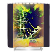 Hopefully We Will Go Sailing Tomorrow Shower Curtain