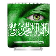 Go Saudi Arabia Shower Curtain