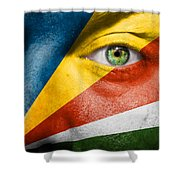Go Seychelles Shower Curtain