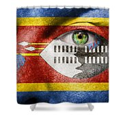Go Swaziland Shower Curtain