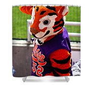 Go Tigers Fight Shower Curtain