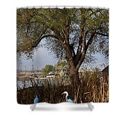 Go To The River Shower Curtain