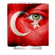 Go Turkey Shower Curtain