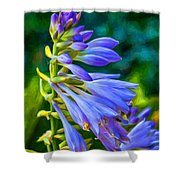 Go With The Flow - Paint Shower Curtain