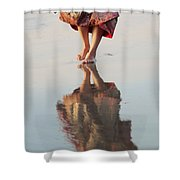 Goa Reflections  Shower Curtain