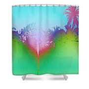 Goan Skyline Shower Curtain